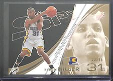 2002-03 Upper Deck SPx Gold Spectrum #28 Reggie Miller No 22 of 25 Please Read