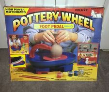 NOS-NEW NSI #675 Workshop High Power Motorized Ceramic Pottery Wheel with Foot P