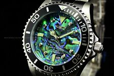 Invicta Men 47mm GRAND PRO DIVER 0.03 CARAT DIAMONDS Abalone Dial SS Watch