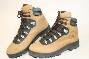 The North Face 39245 Ballard Lace II Womens 11 43 Brown Leather Hiking Boots