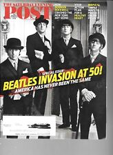 SATURDAY EVENING POST MAGAZINE SPECIAL EDITION BEATLES INVASION AT 50