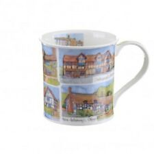Emma Ball UK  Regions Emma's Britain Warwickshire Dunoon Mug Gift Boxed NEW