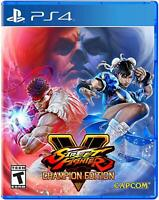 Street Fighter V: Champion Edition - PlayStation 4- BRAND NEW & SEALED!