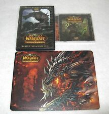 World of Warcraft Cataclysm Collector's Edition Behind Scenes DVD Soundtrack