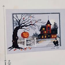 Judith M Kirby's Victorians House Number 9 Halloween 1989 Booklet Chart only