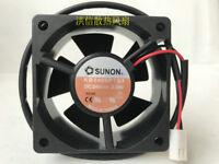 For 1Pcs SUNON KD2406PTS1 6025 2.1W 24v fan 6CM