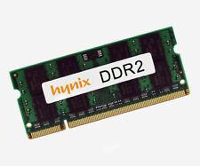 4gb Hynix ddr2 667mhz portátil RAM memoria SODIMM 1,8v hymp 125s64cp8-y5
