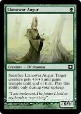 LLANOWAR AUGUR Future Sight MTG Green Creature — Elf Shaman Com