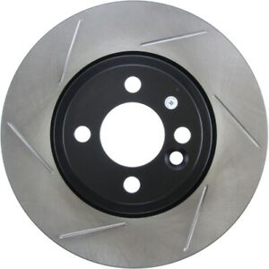 StopTech 126.34100SL Sport Slotted Brake Rotor For 07-16 Mini Cooper NEW