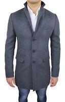 Dettagli su Uomo Caldo Cappotto Invernale Morbido Kapuzenmäntel Maglioni Outwear M 2XL