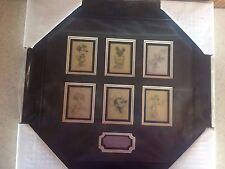Disney RARE John Hench Mickey Sketch Collection Frame Set 2 #79366 NEW! LE 500