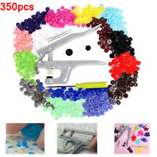 350pcs Snap Pliers for Resin Snaps Plastic Poppers Button Fasteners Press Studs