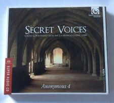 Anonymous 4 : Secret Voices: Chant & Polyphony from the Las Huelgas Codex.