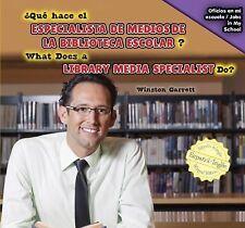 Qué hace el especialista de medios de la biblioteca escolar? / What Do-ExLibrary