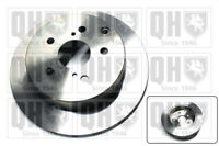 2x Brake Discs (Pair) Solid fits TOYOTA COROLLA CUR10 2.0D Rear 04 to 09 1CD-FTV