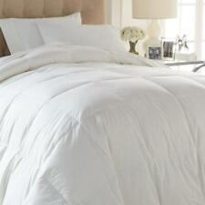 King 100% White Down Duvet Comforter White Concierge Collection Platinum