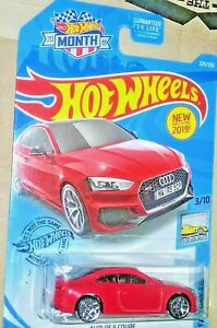 WALMART FACTORY FRESH AUDI RS 5 COUPE 2019 EXCLUSIVE 2019 HOT WHEELS MONTH