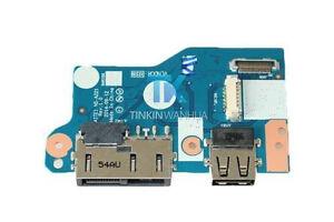 NS-A221 00HT632 USB Power DC Jack Board Lenovo IBM Thinkpad E450 E455 E550 E555