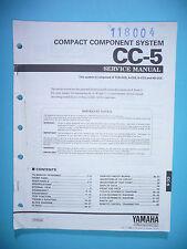 Service Manual-Anleitung für Yamaha CC-5,ORIGINAL