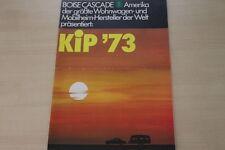 178206) KIP Caravan - Modellprogramm - Prospekt 1972