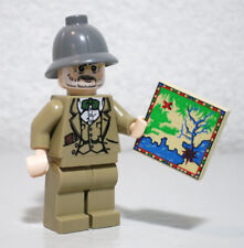 Henry Jones Sr. Treasure Map 7198 7620 Indiana Jones Lego Minifigure Mini Figure