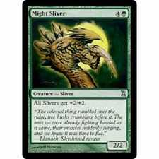 MTG TIME SPIRAL * Might Sliver - Condition: Good
