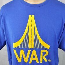 War Bay Bridge Oakland Warrior Atari Dubs XXL T-Shirt 2XL Mens Underlined Bold
