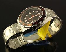 INVICTA MENS 43MM SWISS MASTER OF OCEANS SUBMARINER STYLE DIVER-BLACK & RED DIAL