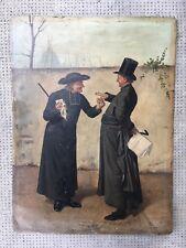 LEO HERRMANN peinture priest tobacco pretre tabac a priser bourgeois ARGUMENT