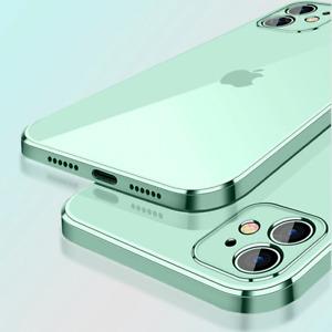 COVER per iPhone 12 Pro Max Mini Custodia Plating Square + Vetro Temperato 9H