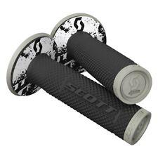 Scott SX II Grips Lenker Griffe mit Donuts grau/schwarz