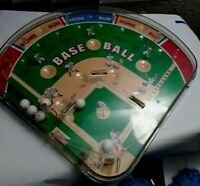 "Baseball Pinball Arcade Game by Schylling 2001 12"" x 12"" x 2"" Play Ball!"