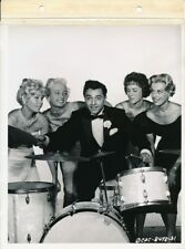 SAL MINEO & Starlets Vintage 1959 THE GENE KRUPA STORY KEY BOOK Portrait Photo