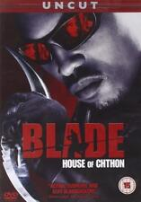 Blade: House Of Chton (DVD, 2007) Uncut Version