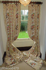 10ft9x8ft FRENCH COLEFAX&FOWLER INTERLINED *MALLORY HUGE ACANTHUS CARTOUCHES
