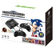 Consola Megadrive con 81 juegos y ranura cartuchos MD Sega Nueva Genesis