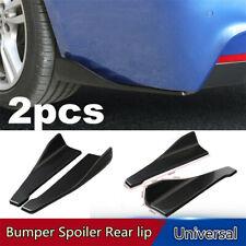 2x Car Accessories Bumper Spoiler Rear Lip Angle Splitter Diffuser Protector Kit