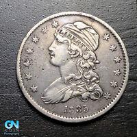 1835 Capped Bust Quarter --  MAKE US AN OFFER!  #B9230