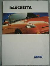 FIAT Barchetta BROCHURE OTT 1995
