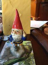1980 Unieboek B.V. Gnome Holding Axe Figurine