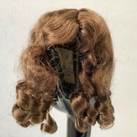 Hand Styled Doll Wig Global Dolls Joy 13-14 Light Brown NOS Modacrylic Fiber