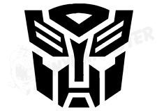 Transformers Autobots Logo Sticker, Bumble Bee Decepticons Optimus Prime