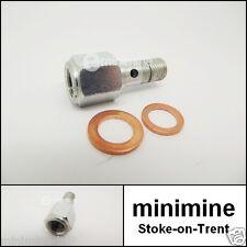 Classic Mini Interruttore luce freno idraulico banjo bolt 7h7995 pre 1976 AUSTIN 1275