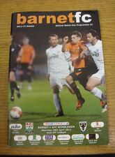 28/04/2012 Barnet v AFC Wimbledon [1st League Season Wimbledon] .  We are please