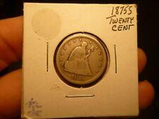 1875-S Twenty Cent Piece mint error