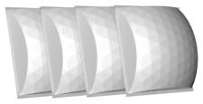 Auralex Acoustics Geofusor 11 - Acoustic Diffusor - 1ft x 1ft - 4 Pack