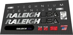 1991 Raleigh Technium Instinct DECAL SET