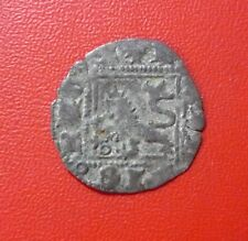SPAIN MEDIEVAL COIN Dinero, 1390-1406 (Burgos) Henry III