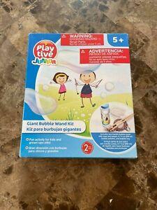 Playtive GIANT Bubble Wand Kit Big Bubble wand kit new in box