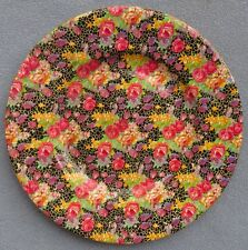 Royal Winton Hazel Black Floral Chintz Dinner Plate